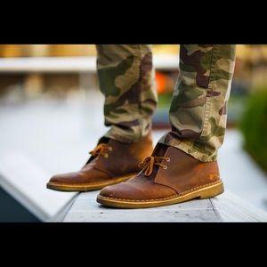Clarks Men's Bushacre Chukka Boots Size 10